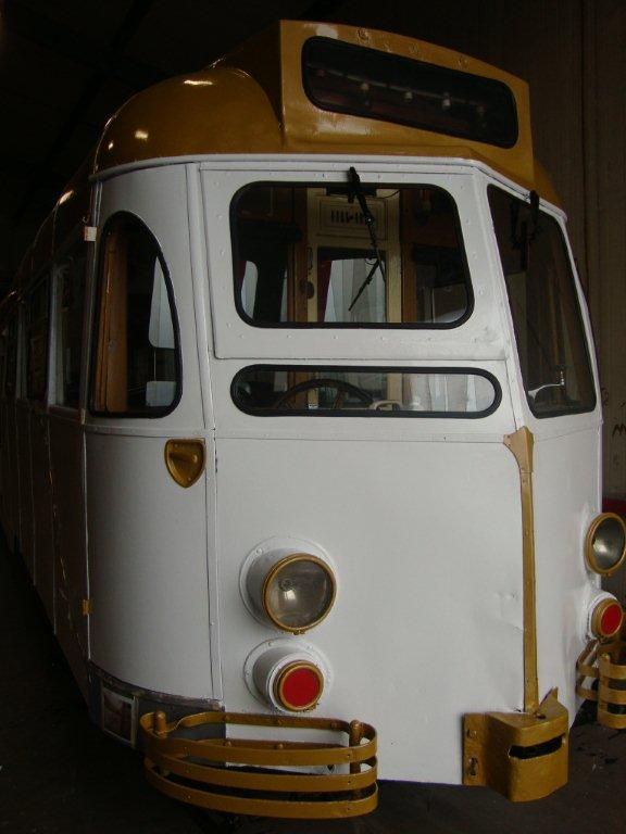 A front on view of 290. (Photo courtesy of Fleetwood Heritage Leisure Trust)