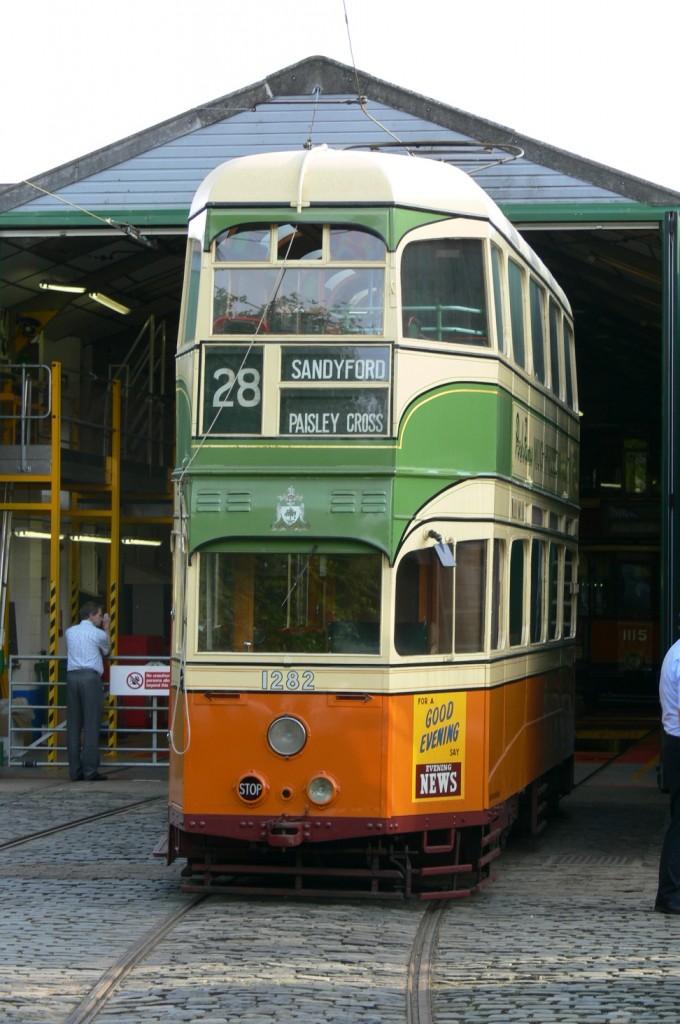 Glasgow 1282 The Cost Of Restoration British Trams