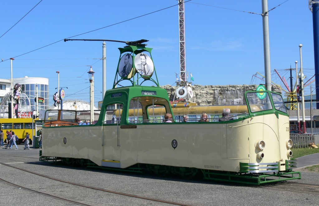 The wonderful Boat 230 - star of the new 'Compare the Meerkat' commercial - seen at Pleasure Beach on a glorious sunny day earlier this year. (Photo by Andrew Waddington)