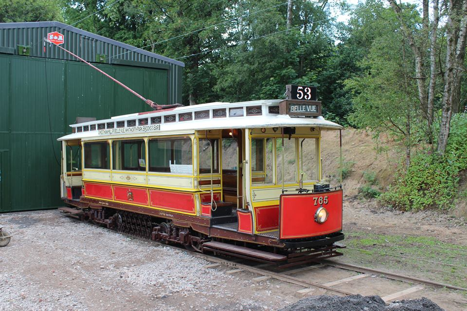 Another view of 765 at Lakeside, which also serves to illustrate the fantastic work carried out by volunteers to restore the area to a presentable appearance, with the area in front of the new depot looking particularly impressive.