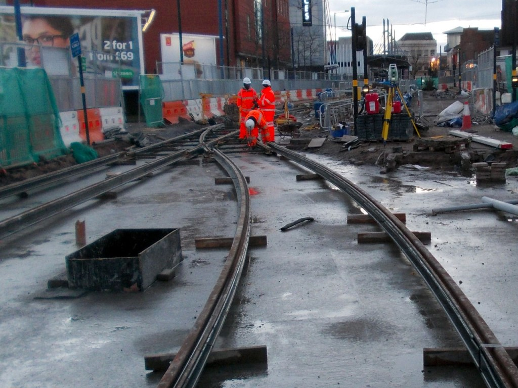 And on the same day this shows the current state of the up track leading to the terminus. (All Photos: Michael Averill)