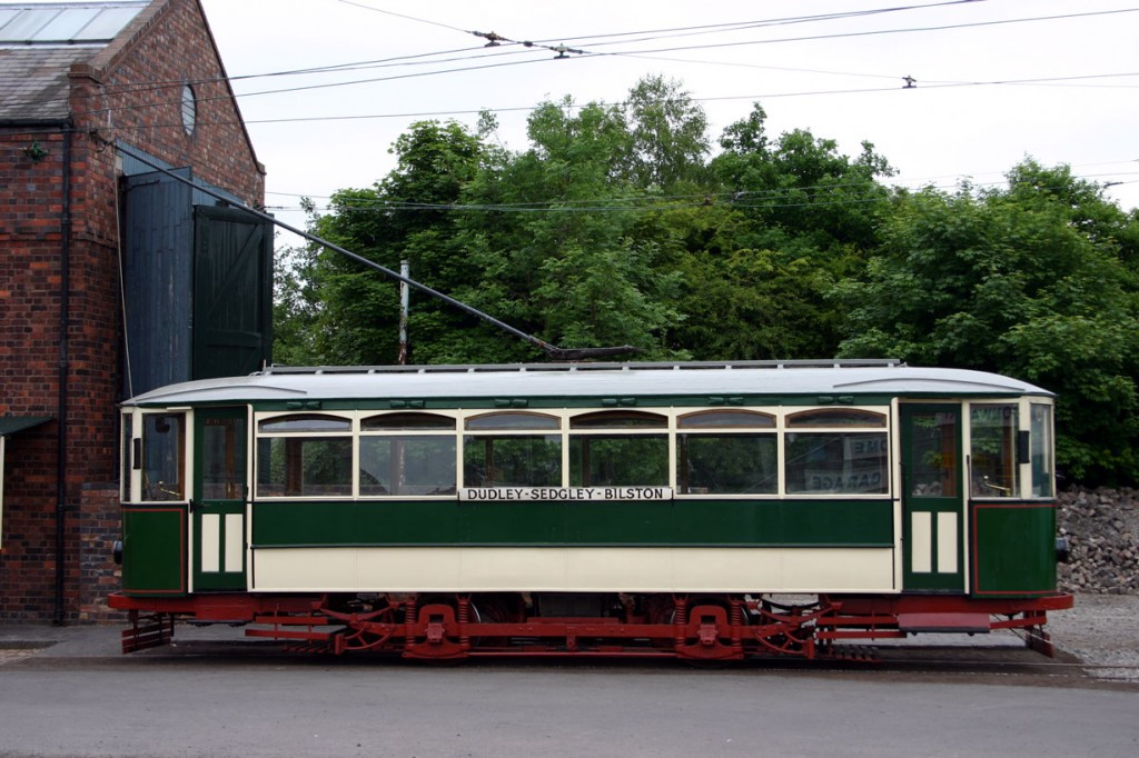 No sooner do we say we have included a photo of all tramways on this page over the course of this year then we add another line to the feature! With the Black Country Living Museum tramway now back in part operation we show Wolverhampton & District 34 standing outside the tram depot on 3rd June 2009. (Photograph by Gareth Prior)