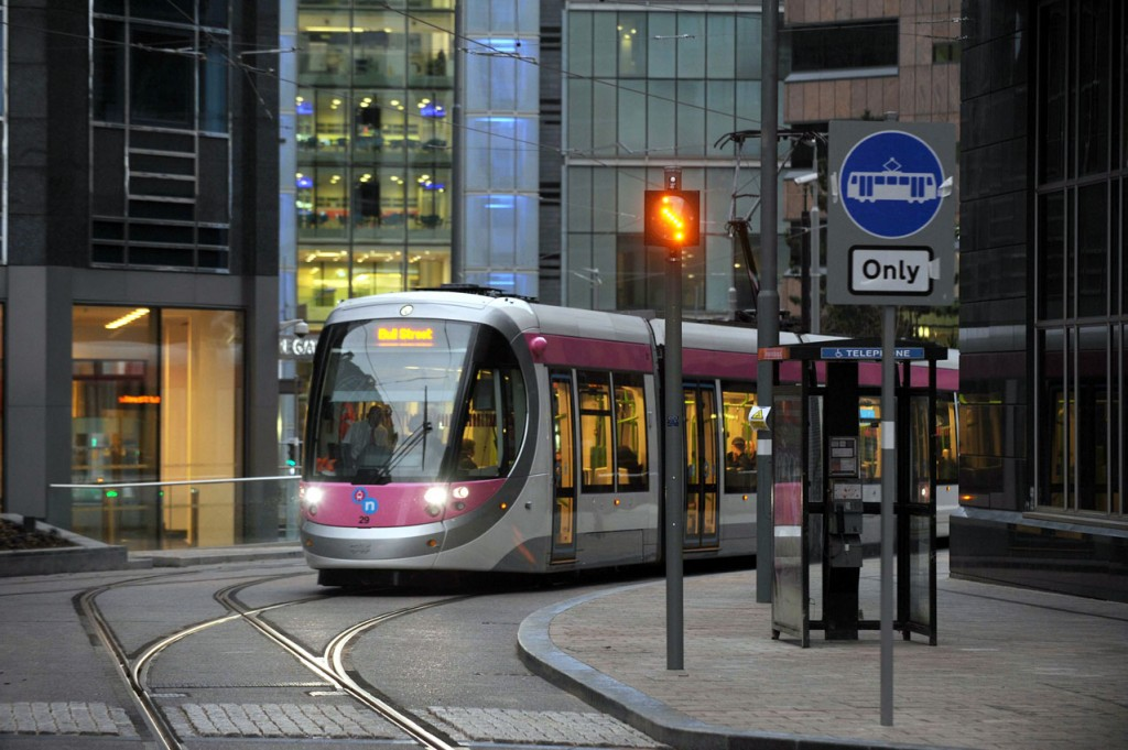 Later on in the morning and 29 is seen on the street section running through to Bull Street. (Photographs x2 courtesy of Centro)