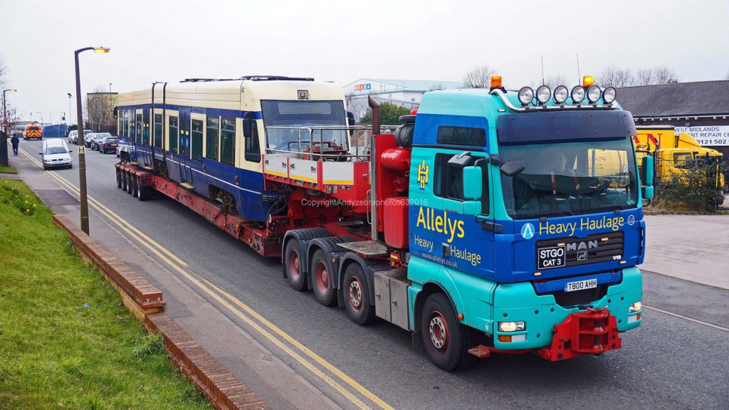 One final view of 11 before it heads off to Long Marston. (All Photographs by Andy Walters)