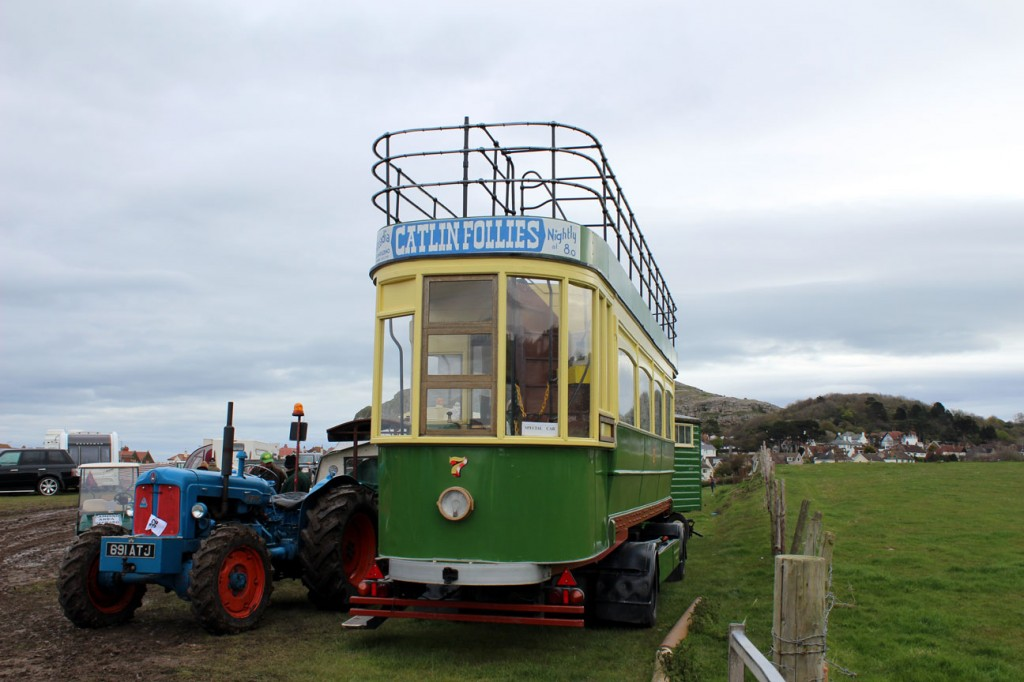 Another view of 7 on 1st May at the Llandudno Transport Festival.