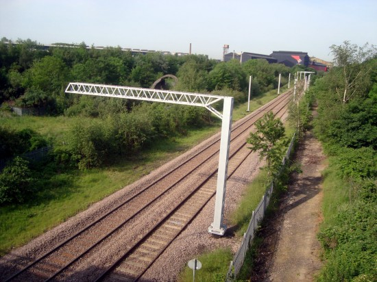 Taken from a bridge on Bessamer Way between Tinsley and Rotherham this ...