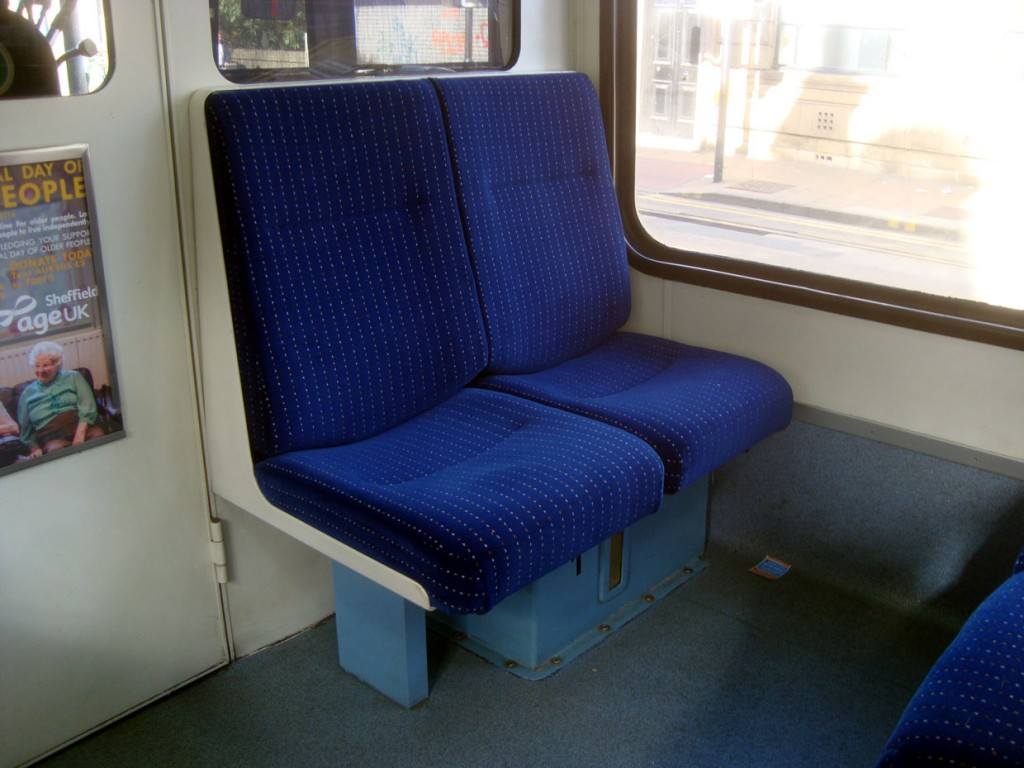 The revised seat covers on 118.
