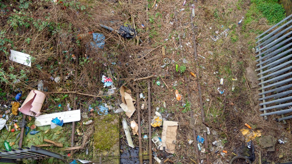 It will not just be vegetation which has to be cleared as seen here.