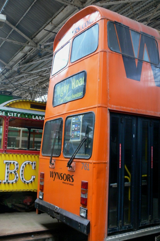 A recent view of Jubilee car 761 stored in the sanctuary of Rigby Road depot last year, prior to its recent ownership transfer. (Photo by Andrew Waddington, with the permission of the Blackpool Heritage Trust & Blackpool Transport Services Ltd.)