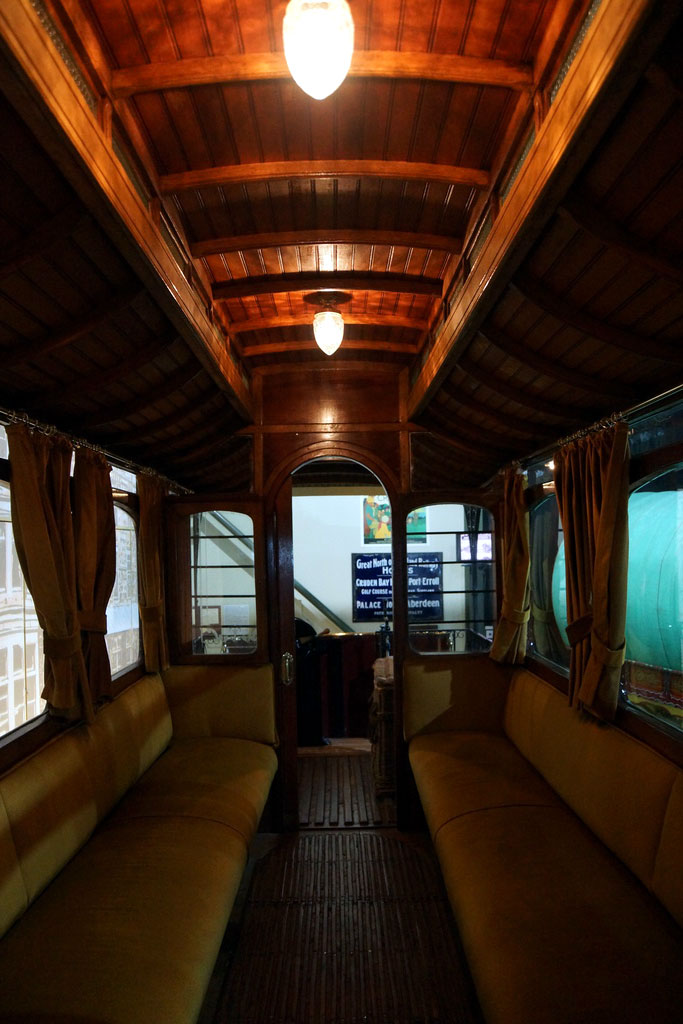 Looking inside the passenger saloon. (All Photographs by David Mee)