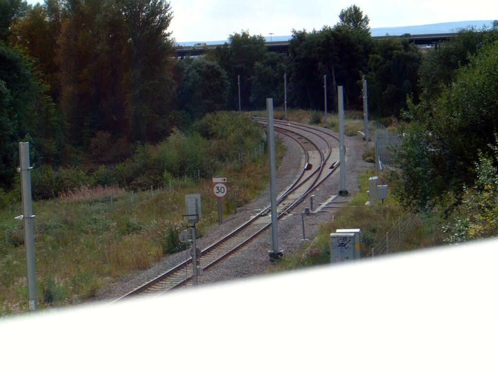 Back in Sheffield and work at Tinsley Chord is now complete. (All Photographs by Glyn Hill)