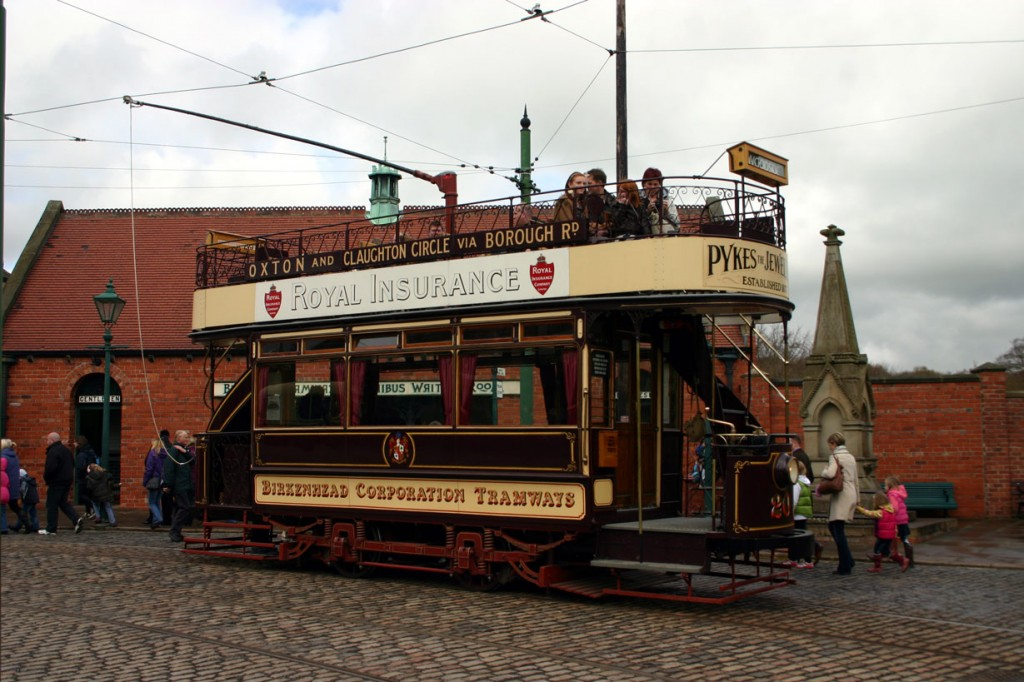 Birkenhead 20 stands in the traditional Beamish town location for a photo on 12th April 2012.