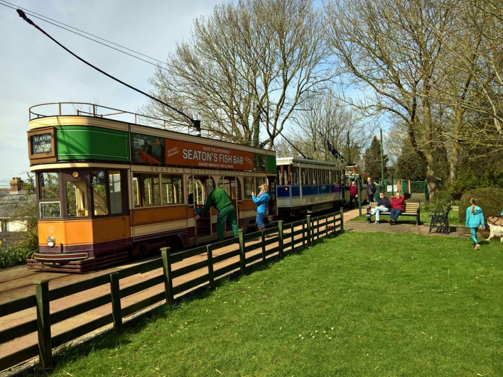 A busy scene at Colyton with 10, 15 and 4.