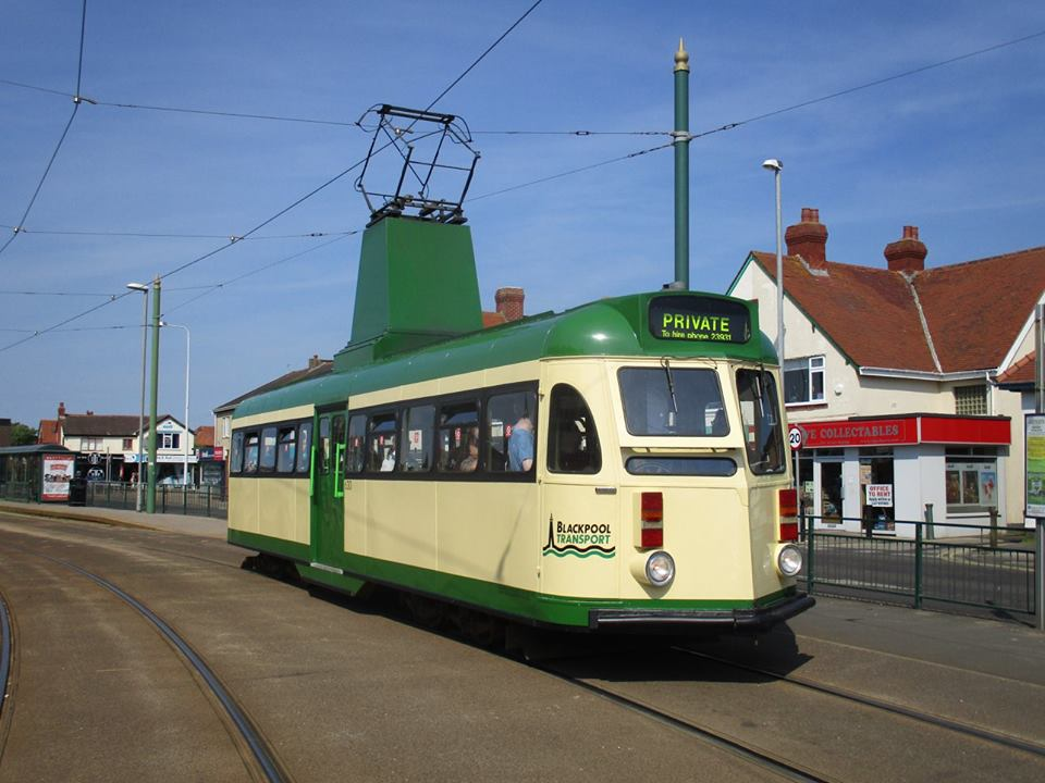 630 pauses for the cameras at Cleveleys whilst heading south.