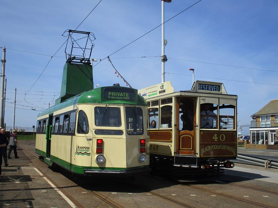 Another rare shot, this time with 40 & 630 side by side at Starr Gate - something else that very rarely happens anymore!