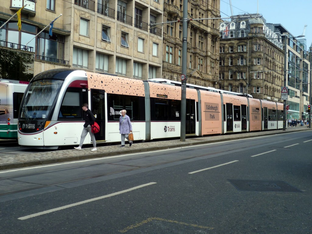 Another view on Princes Street. (Both Photographs by Roy Calderwood)