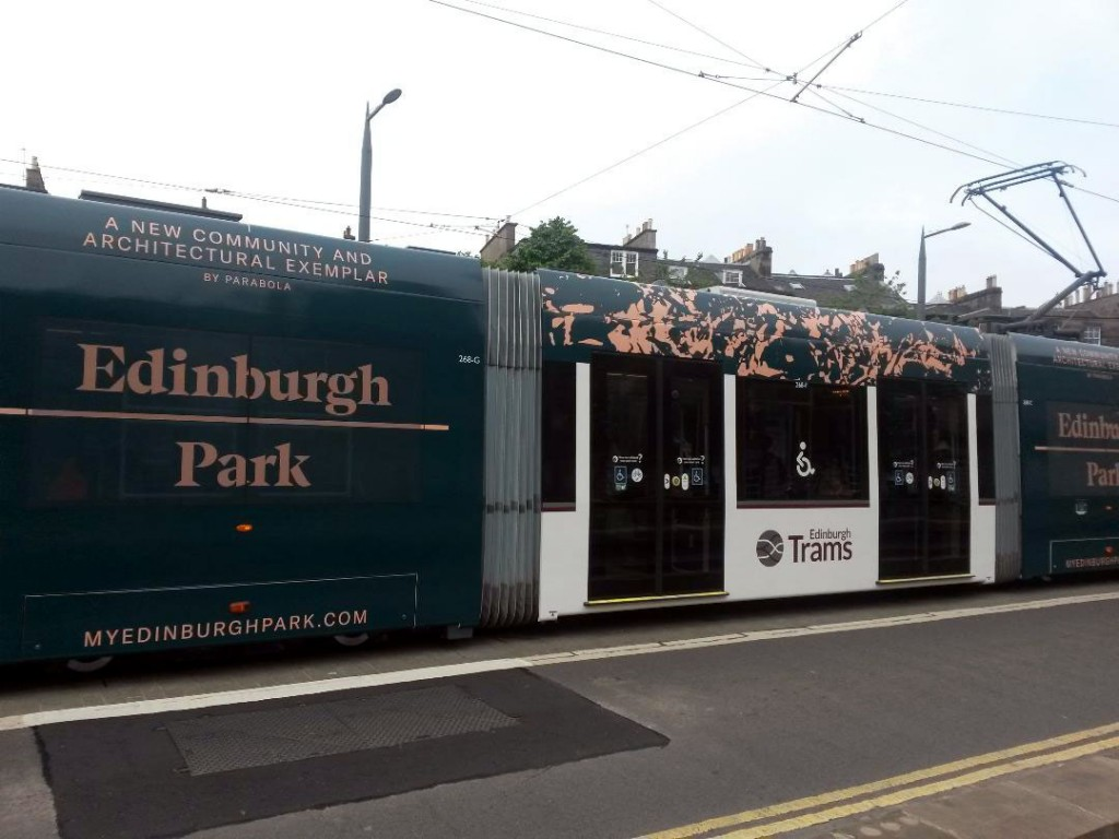 Looking at the advert on 268 for the Parabola development at Edinburgh Park. The colours are inverted from that on 254.
