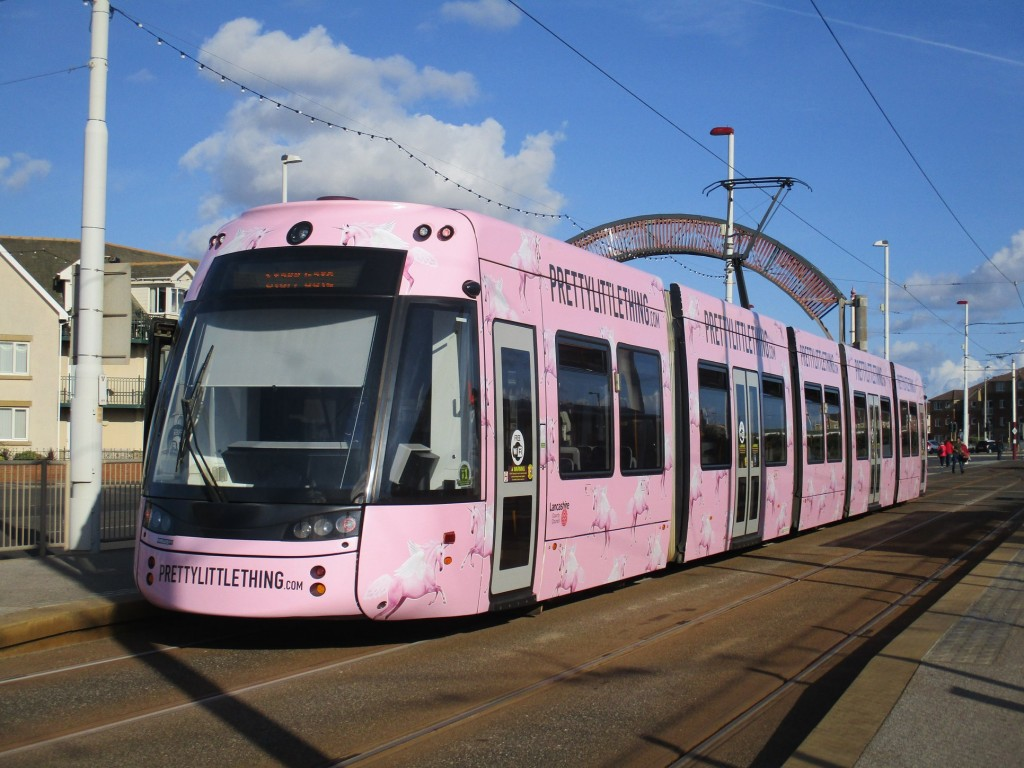 'Pretty Little Thing' 016 seen at Starr Gate on its first day in service, 25th August. (Photo by Rob Bray)