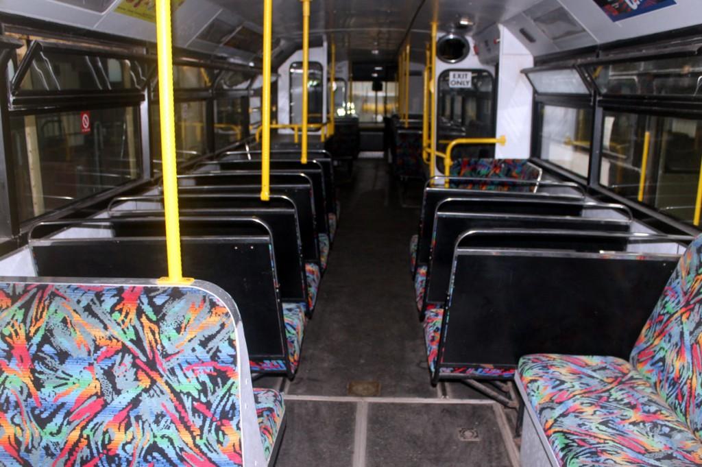 The familiar interior of a Centenary Car.
