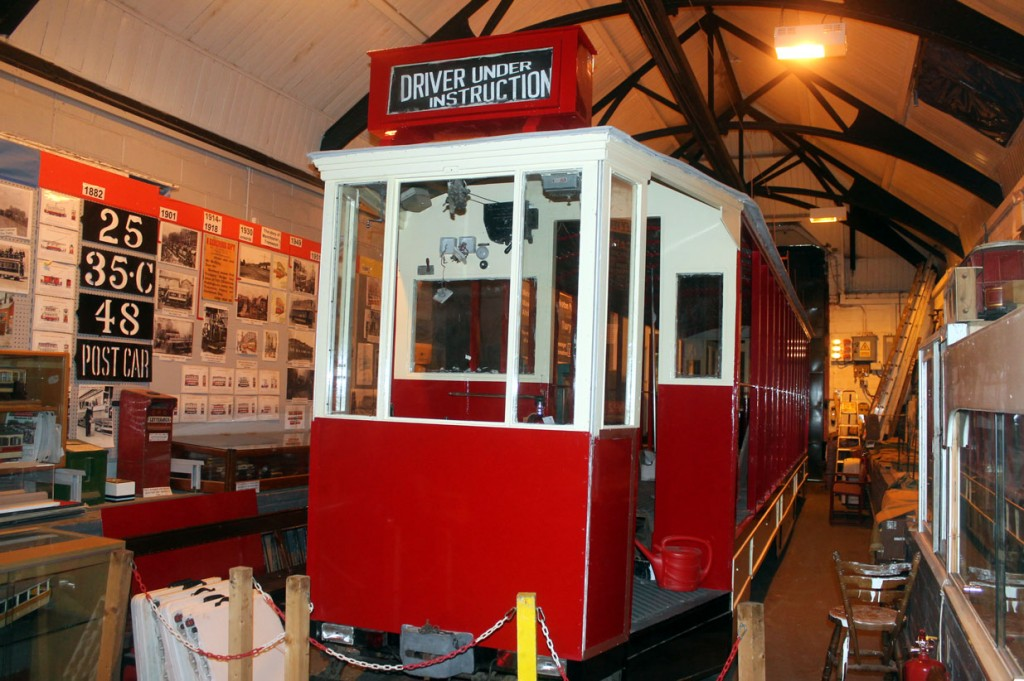 Inside Middleton Road Depot and Blackpool 619 is seen under attention. With its freshly applied paint from Heritage Painting shining the work on this tram continues to progress.