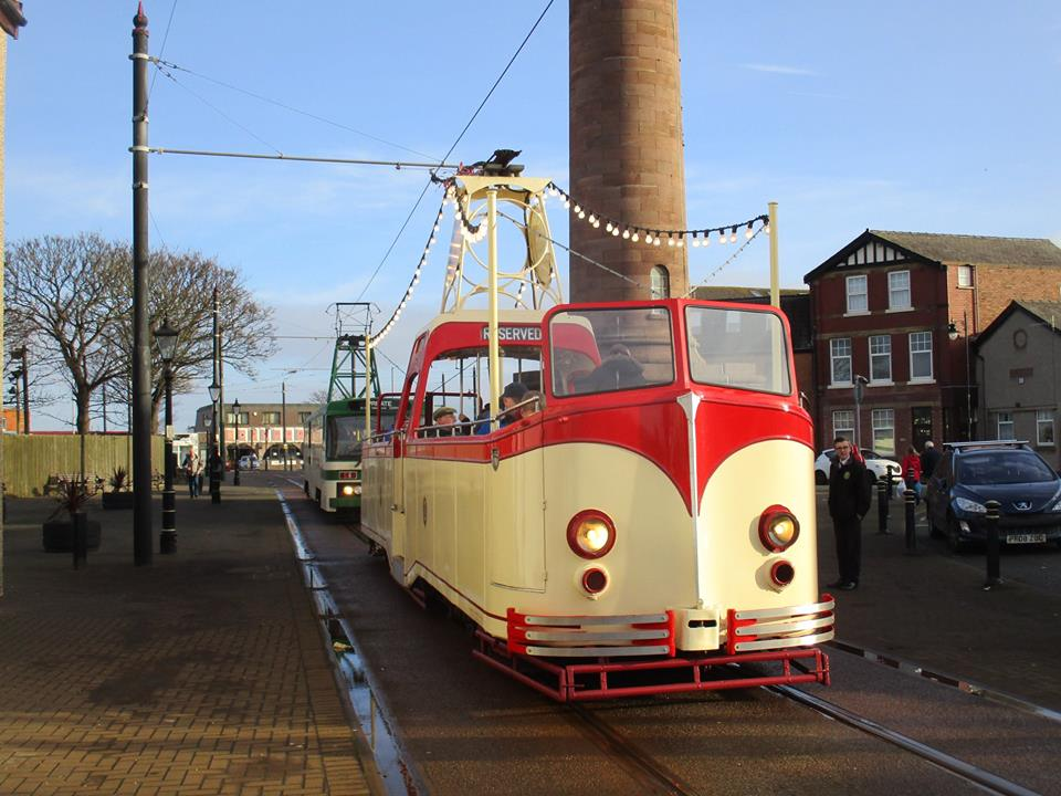 Boat 227 basks in the winter sunshine on Pharos Street on its first appearance in Fleetwood for over two years, and its first visit since it was named 'Charlie Cairoli'.