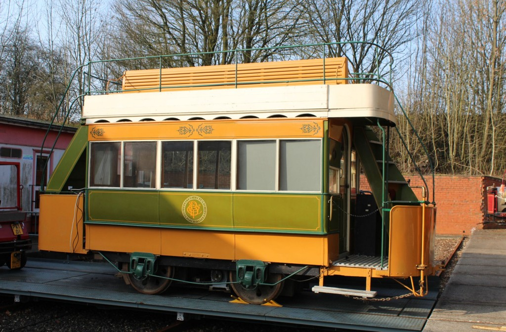 Next out was, appropriately, Blackpool conduit car 4 - arguably Holoroyd Smith's most celebrated creation!
