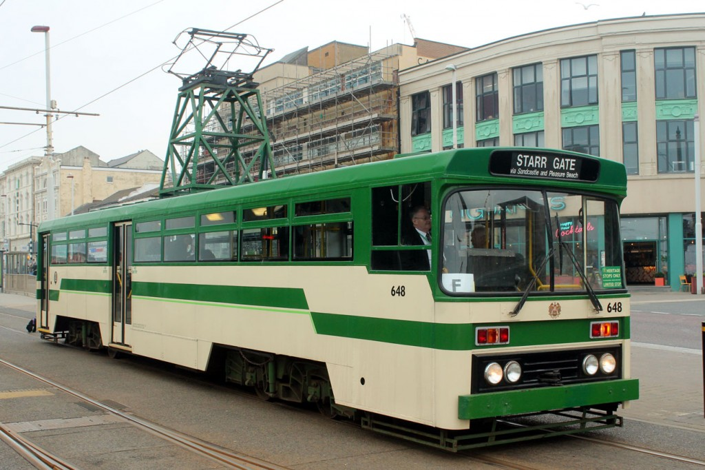 Centenary 648 at North Pier/Tower.