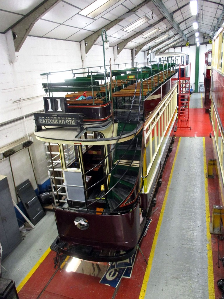 In the workshop and progress is being made on the TSO supported overhaul of Newcastle 102 which is including a repaint.