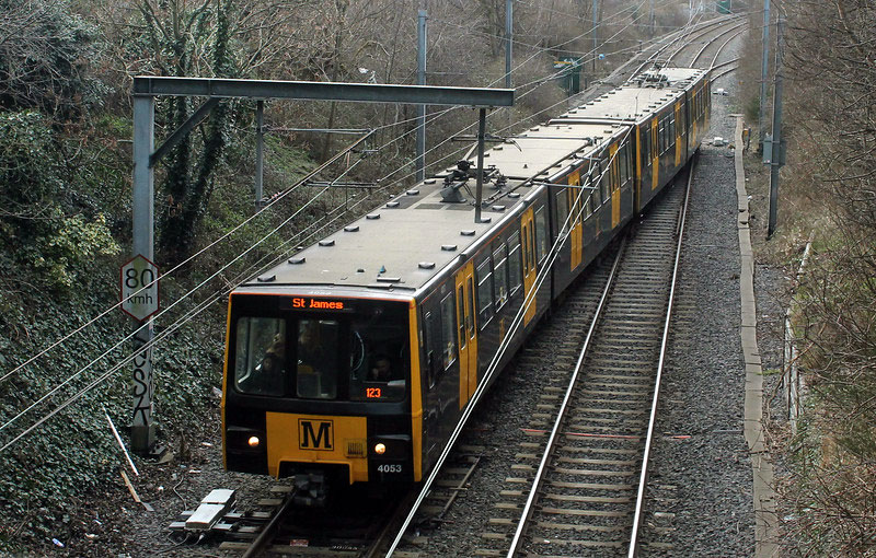 On 4th March and at North Shields 4053 uses the crossover to access platform 2 which was used for both arrivals and departures during the extended closure. (All Photographs by Trevor Hall)