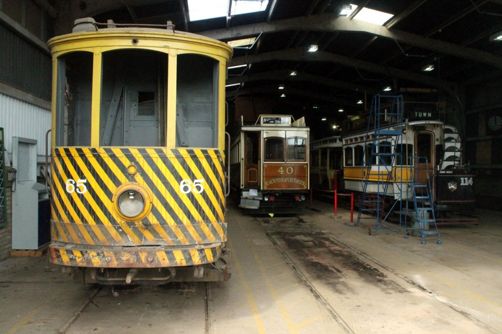 Down at the depot and Oporto C65 remains at the head of road 2. Blackpool & Fleetwood 40 is next across whilst road 4 sees Newcastle 114 and Manchester 765 in situ. With it being around a week until the Great North Steam Fair this depot is likely to be considerably emptier! (All Photographs by Trevor Hall, 2nd April 2019)