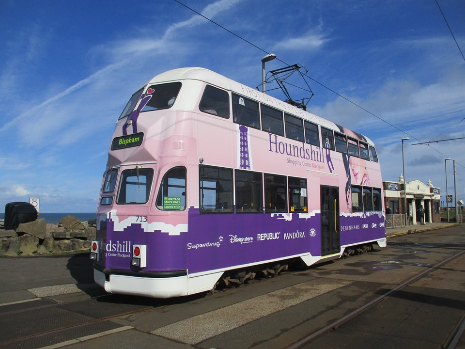 May Day itself with 713 at Bispham. Despite bright sunshine and blue skies, the weather was quite chilly over the weekend but at least it was dry! (All photos by Rob Bray)
