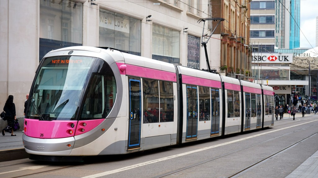 A sight we haven't seen for quite some time – 26 on the main line under test. This is Corporation Street.