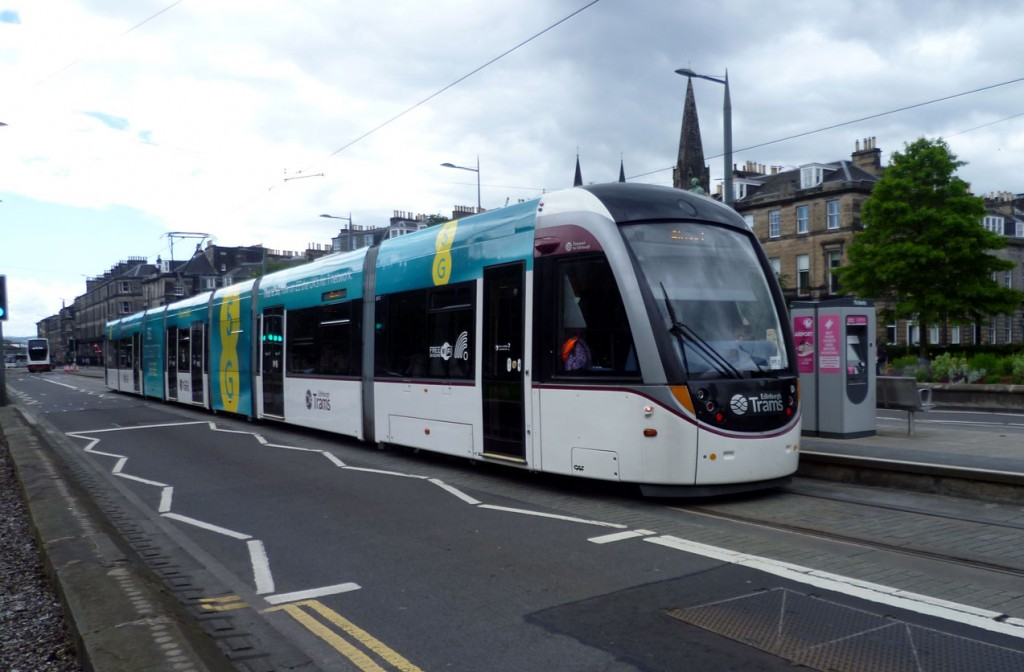One more shot of 267 at West End Princes Street as it works a service to the Airport. (All Photographs by Roy Calderwood, 15th June 2019)
