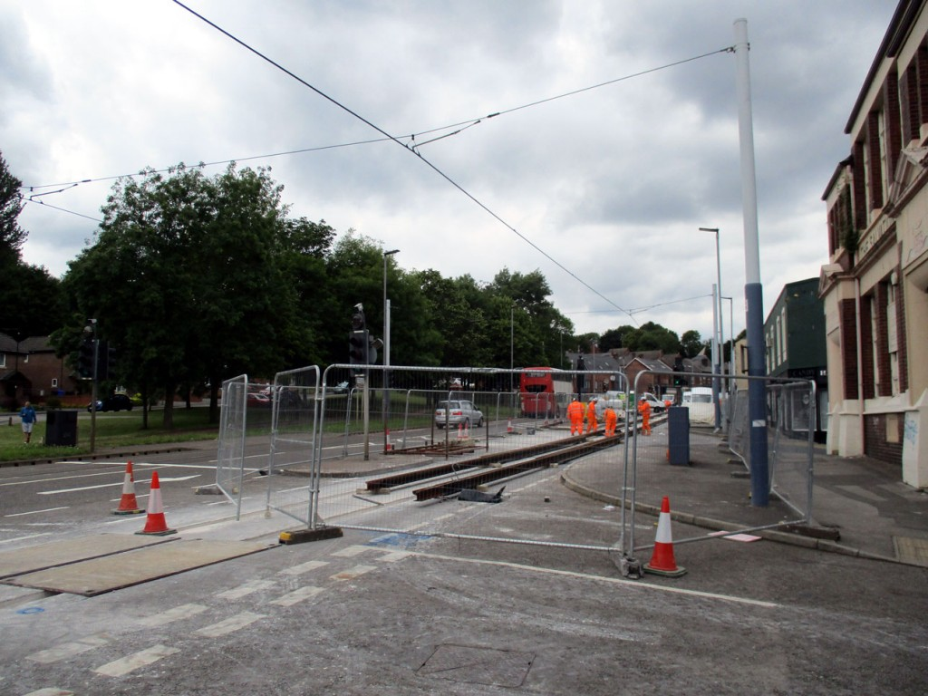 One final image of this section of tramway during the rail replacement project. (All Photographs by Stuart Cooke, 8th July 2019)