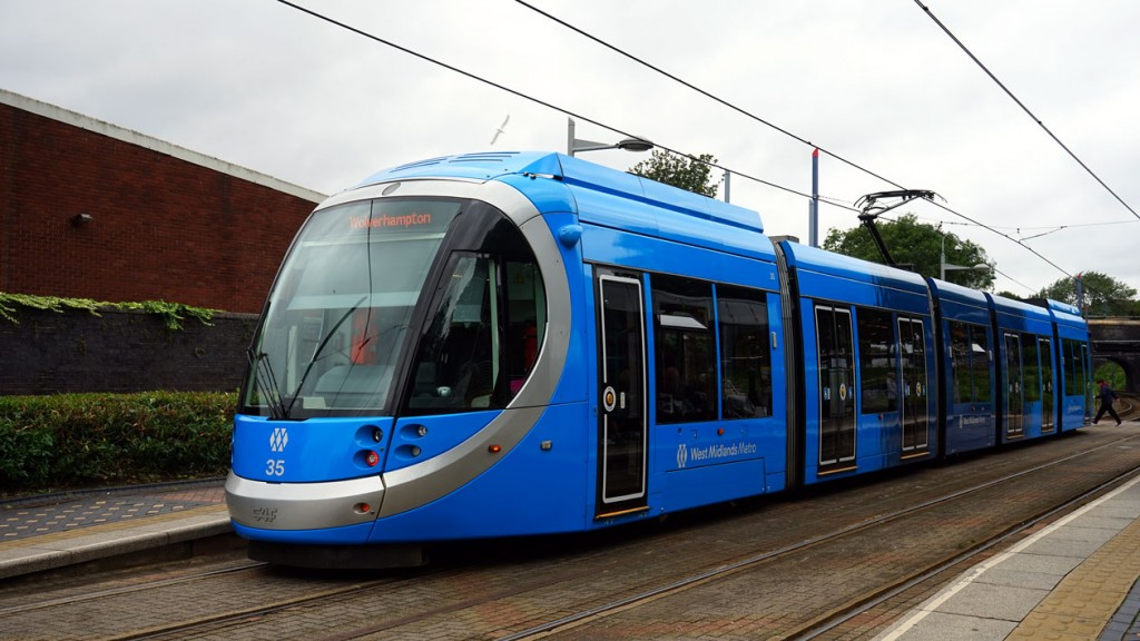 35 – minus name – and its new blue livery.