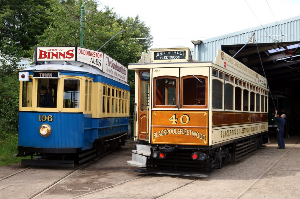 With a shunt taking place here we see 40 joined by Oporto 196 outside the depot. (Both Photographs by Trevor Hall, 21st August 2019)