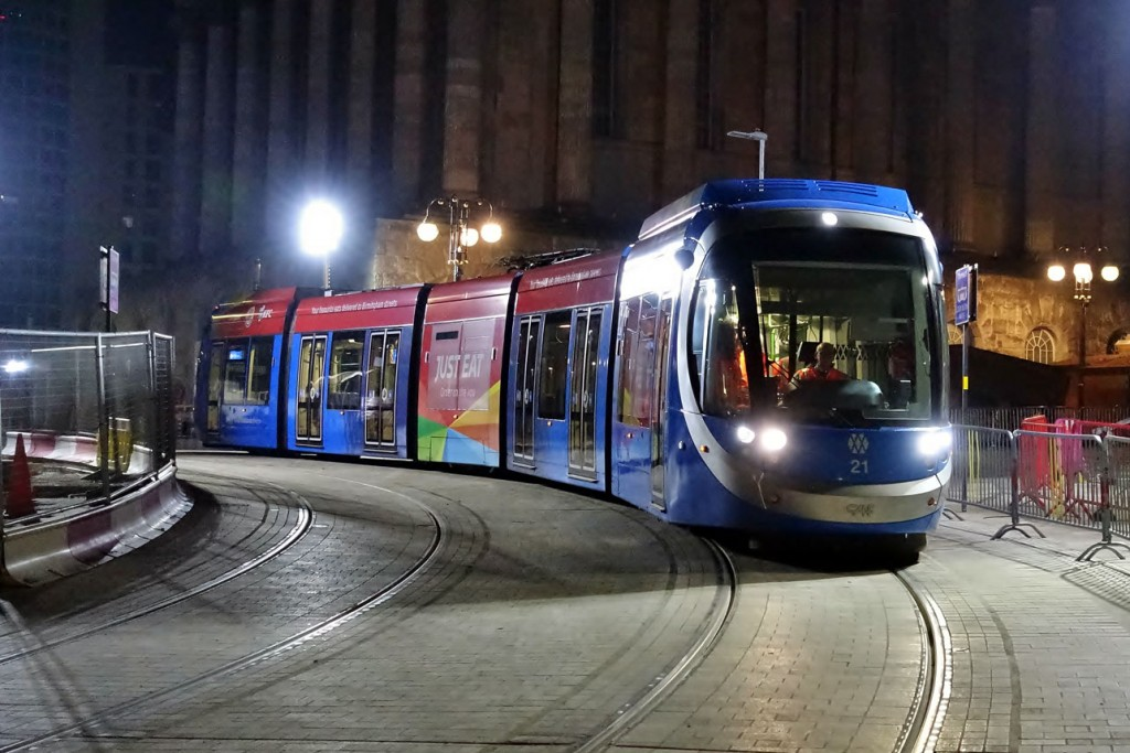 One final look at 21 in Victoria Square during testing at approximately 0230 on 31st October. (All Photographs by Ian Nightingale, 31st October 2019)
