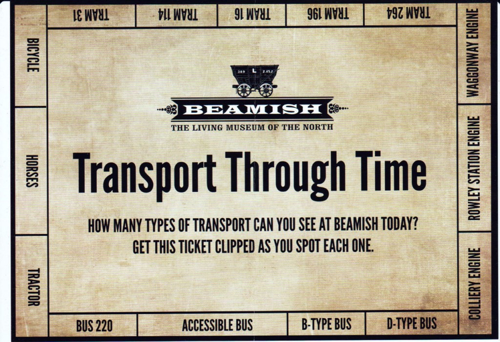 The Transport Through Time sheet with the different vehicles for spotting around the edge.