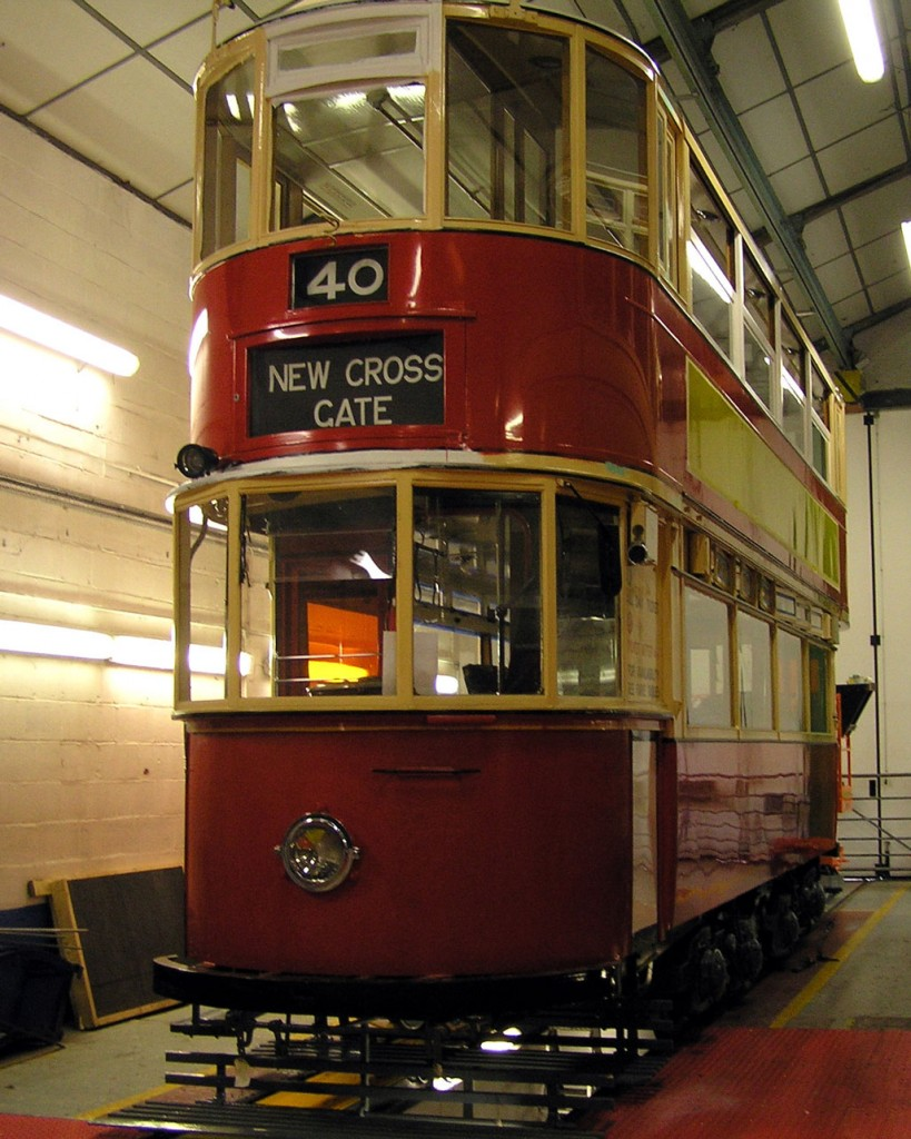 London Transport 1622 is a typical example of something going into the Workshop for some work and then a discovery made that a lot more attention was needed than first thought – as so often is the case when you are dealing with elderly vehicles! The tram has also seen some paintwork attention with its fleet numbers currently missing along with the lack of side adverts.
