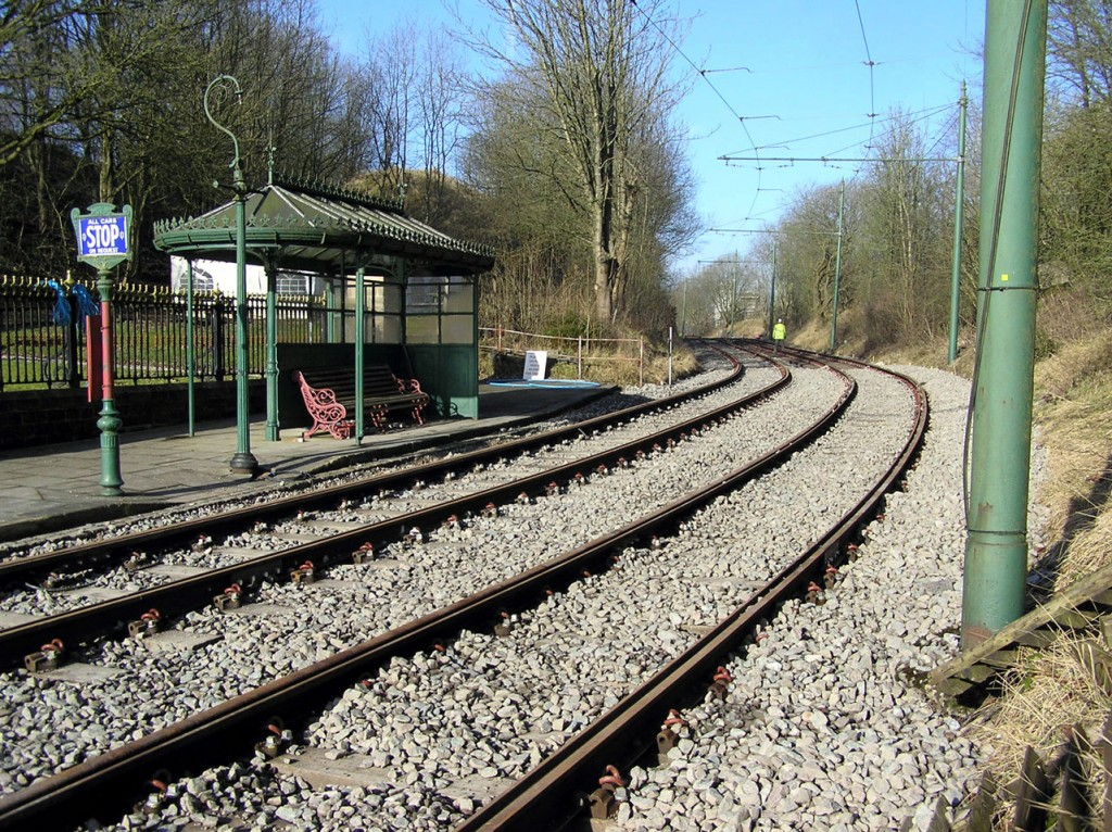 One final view looking north. While this section of the project seems to be more or less completed work continues closer to the single line post. (All Photographs by Keith Chadbourne, 7th February 2020)